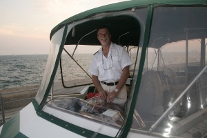The captain of Boatel I
