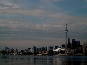 View of Toronto from Lake Ontario