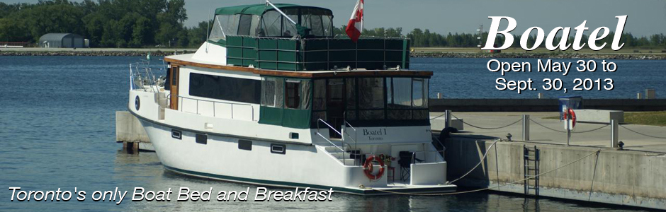 making waves boatel bed and breakfast in downtown toronto. Black Bedroom Furniture Sets. Home Design Ideas