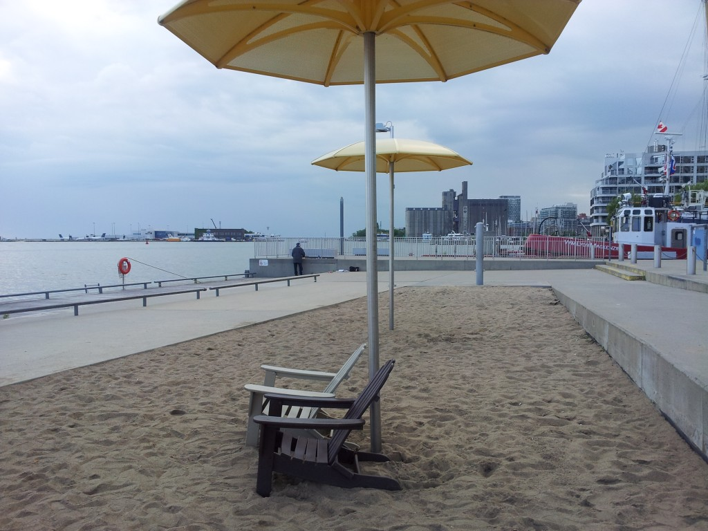 Urban Beach in Toronto