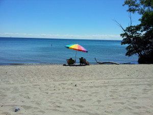 Beach at Toronto Islands
