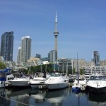 CN Tower and HTO park