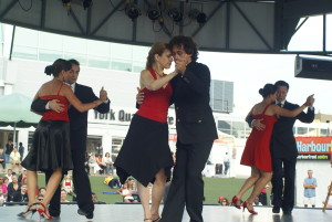 Dancing at Harbourfront