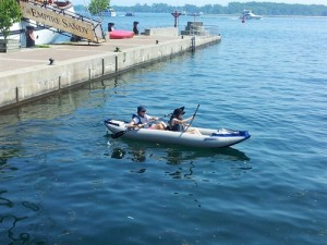 kayak to Toronto Island