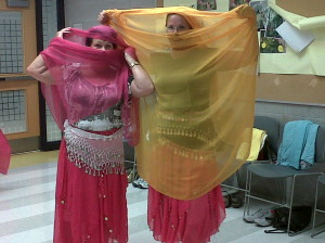 mom and me belly dancing