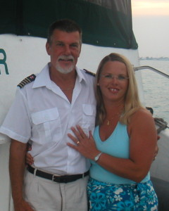 Diane and Captain Ted Greene