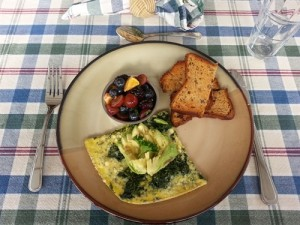 breakfast -spinach frittata resized