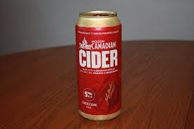 Can of Molsen Canadian Cider